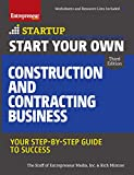 img - for Start Your Own Construction and Contracting Business: Your Step-by-Step Guide to Success (StartUp Series) book / textbook / text book