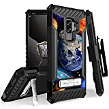 Galaxy S9 Plus Case, Trishield Durable Rugged Heavy Duty Phone Cover [ Belt Clip Holster] And Built in kickstand For Samsung Galaxy S9 Plus - Printed Solar Planet Galaxy