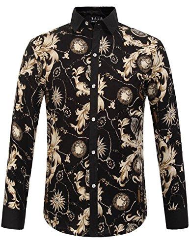 Floral Button Front Shirt - 4