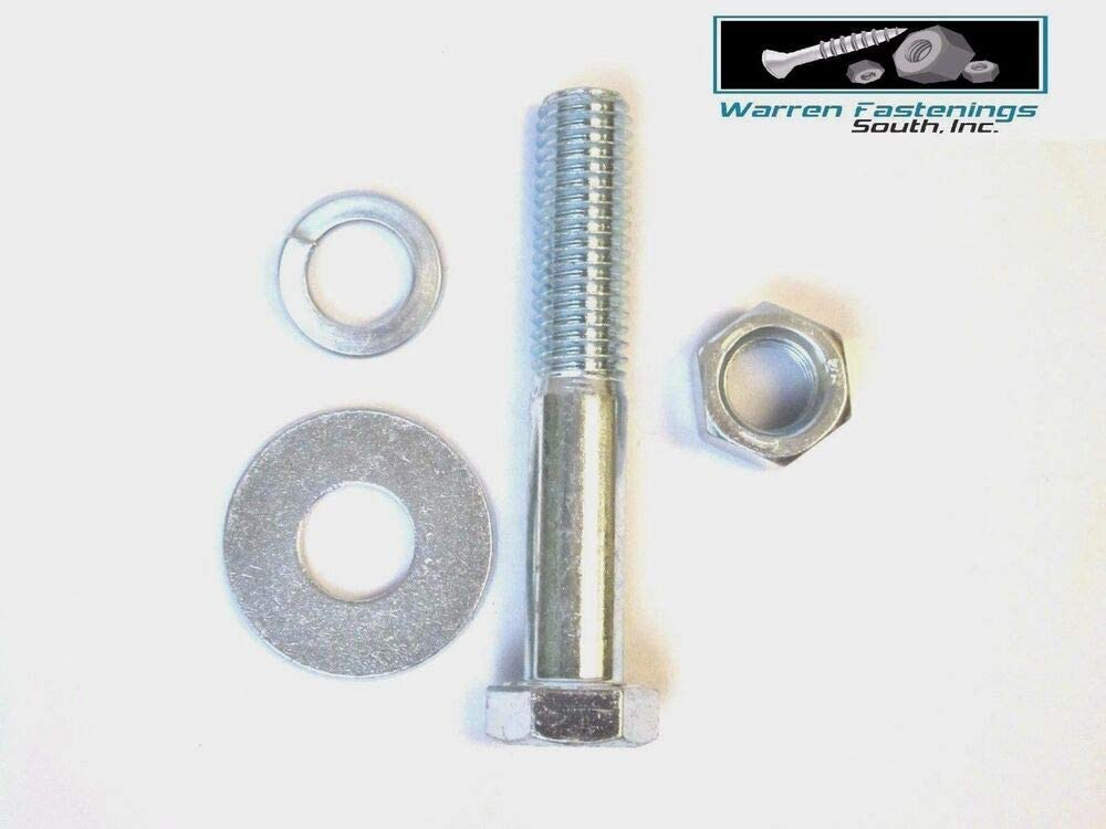 Nut /& Washer Assortment Kit Coarse Thread 358 Pieces Grade 5 Hex Head Bolt USA Stocks