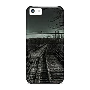 linJUN FENGTough Iphone RrD12079cvSw Cases Covers/ Cases For iphone 6 plus 5.5 inch(old Railroad)