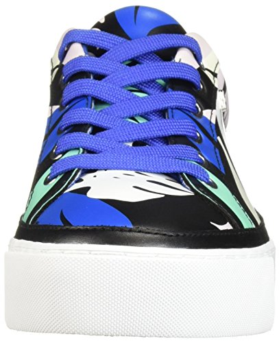 Womens Cut A Leaves Pattern Sneaker 9450898P475 X Armani Exchange Low tTwfwg7qR