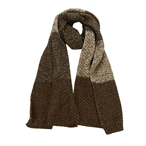 Amiley women scarfs , Winter Casual Men Women Long Warm Soft Thickening Knitting Couples Scarf (Beige) by Amiley