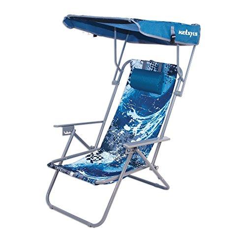 Kelsyus Wave Beach Canopy Chair