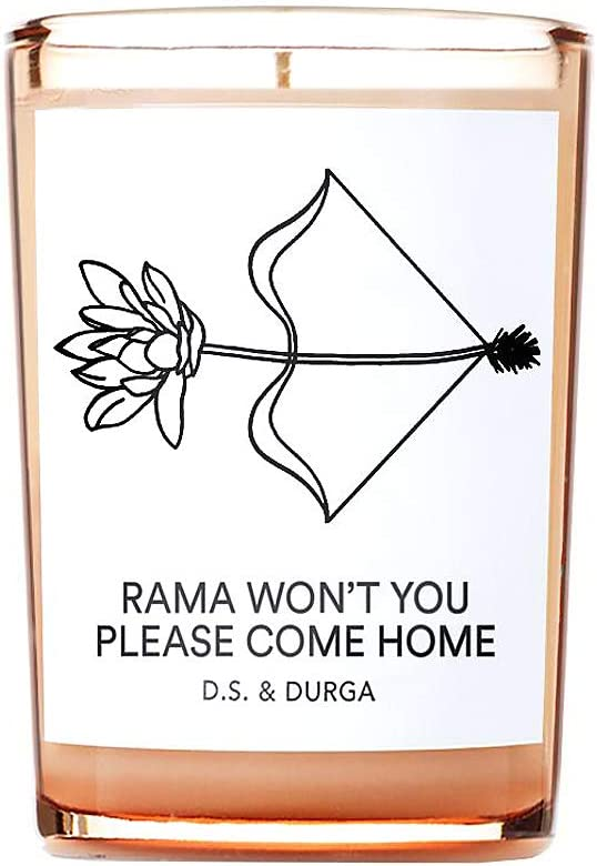 D.S. & Durga Rama Won't You Please Come Home Candle, 7 oz