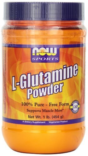 NOW Foods L-Glutamine Pure Powder, 1-Pound by NOW (Now Foods L-glutamine Powder)