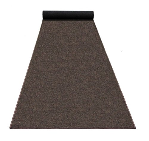 8'X8' SQUARE - RICH BROWN - ECONOMY POOL & PATIO - Indoor/ Outdoor Carpet Rugs, Runners & Mats | Light Weight Spun Olefin Reliably Comfortable! by Koeckritz Rugs