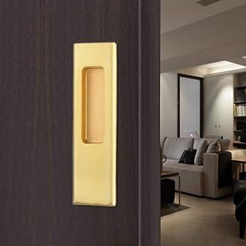 MONZ: tirador de puerta corredera, tiradores de puerta, tirador de manillar de color negro: Amazon.es: Bricolaje y herramientas