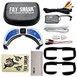 2017 Newest Version! Fat Shark Dominator V3 Headset FPV Video Goggles with Fan Equipped Face Plate Fat shark FSV1063