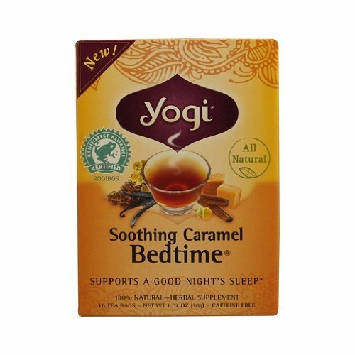 YOGI Tea,BEDTME,SOOTHNG CARAML, 16 Bag