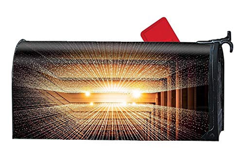 YongSD Texas, United States ,Canada Light Lines Magnetic Mailbox Cover 9''x21'' by YongSD