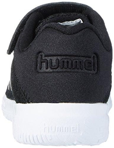 Hummel Actus Tonal Jr, Zapatillas Deportivas Para Interior Unisex Niños Negro (Black)