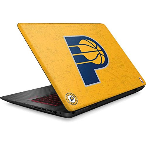 Skinit NBA Indiana Pacers Omen 15in Skin - Indiana Pacers Distressed Design - Ultra Thin, Lightweight Vinyl Decal Protection by Skinit