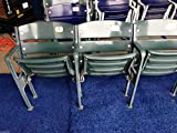 Texas Rangers Baseball Ballpark at Arlington Free Standing Stadium Seats 10-11-12 GLOBE LIFE PARK