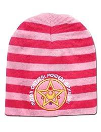 Beanie Cap - Sailor Moon - New Moon Brooch Pom Anime Hat ge32438