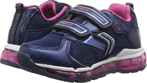 Price comparison product image Geox Kids Baby Girl's Android 16 (Toddler/Little Kid) Navy/Fuchsia 30 M EU