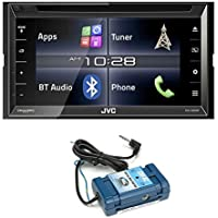 JVC KW-V320BT 6.8 Touchscreen BT Stereo iDataLink Maestro compatible, with Steering Wheel Control Interface