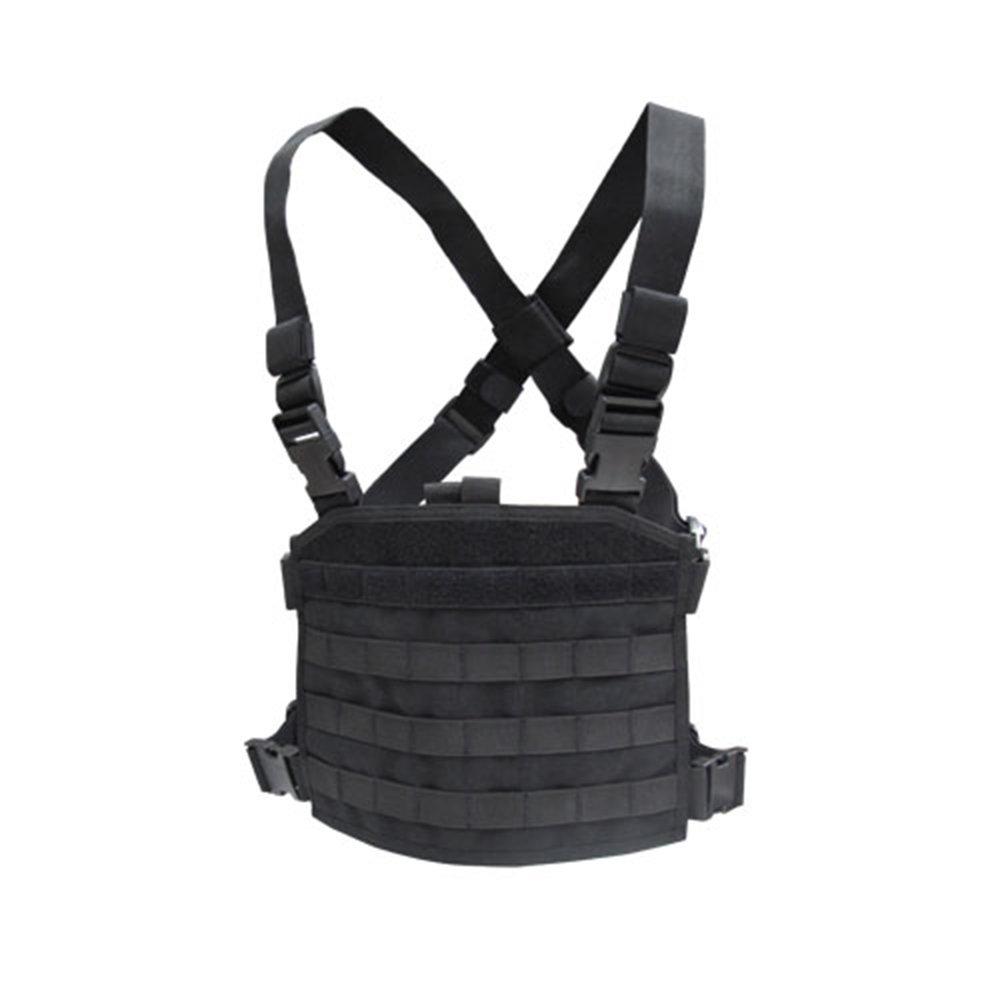 Condor Tactical Modular Chest Panel - Black