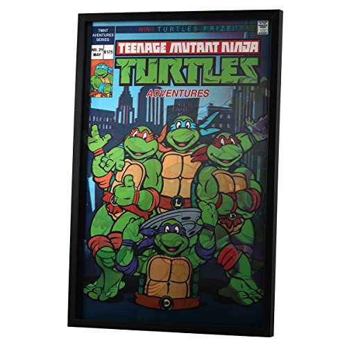 Open Road Brands Teenage Mutant Ninja Turtles Vintage Retro Poster Signs - an Officially Licensed Product Great Addition to Add What You Love to Your Home/Garage