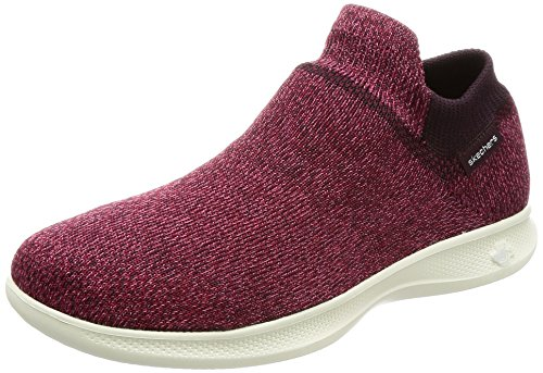 Image of Skechers Go Step Lite - Ultrasock Women US 7 Burgundy Walking Shoe