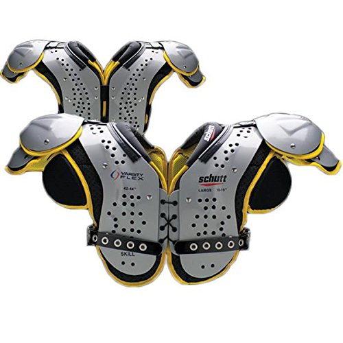 Schutt Varsity Flex 2.0 Skill Football Shoulder Pads, (Db Football Shoulder Pads)