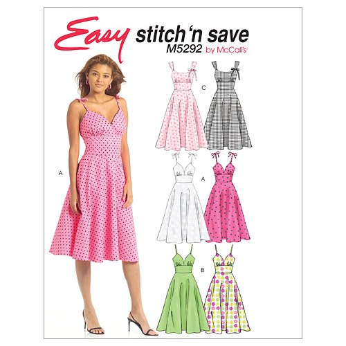 McCall's Patterns M400 Misses' Dresses Size A 40404040 By Magnificent Mcall Patterns