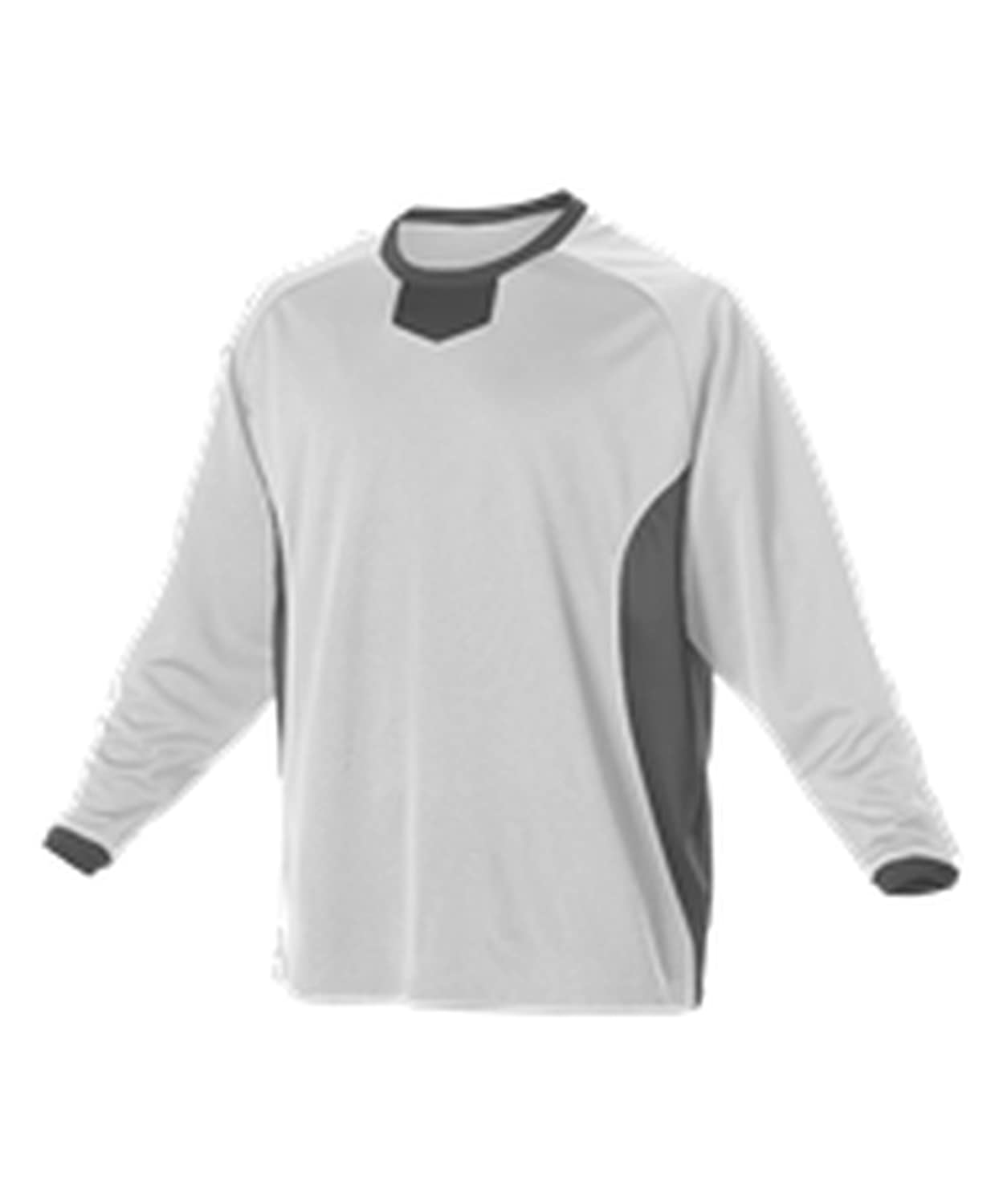 Alleson YOUTH LONG SLEEVE PRACTICE PULLOVER BATTING JERSEY 598BBLY free shipping