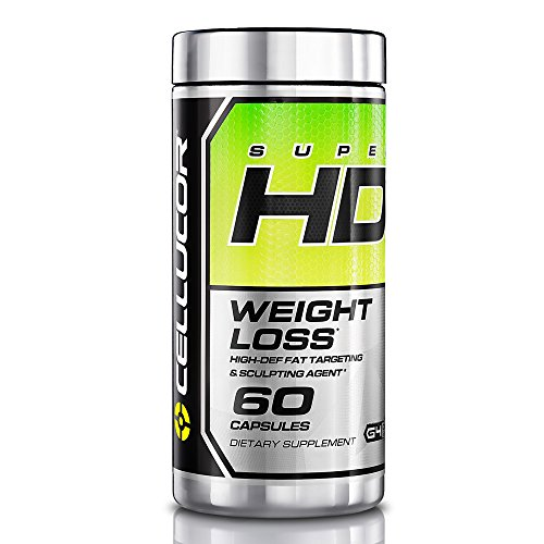 Cellucor SuperHD Thermogenic Fat Burner, Fat Burners For Men & Women, Weight Loss Supplement, 60 Capsules from Cellucor