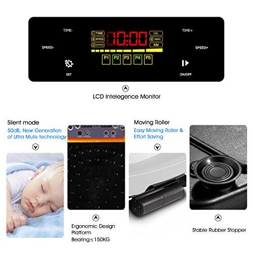 GENKI YD-1015W Vibration Platform Plate Whole Body Massager Machine Slim Exercise Fitness by GENKI (Image #5)