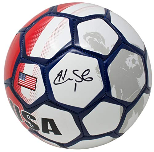 Hope Solo Team USA Signed USA Select Soccer Ball JSA