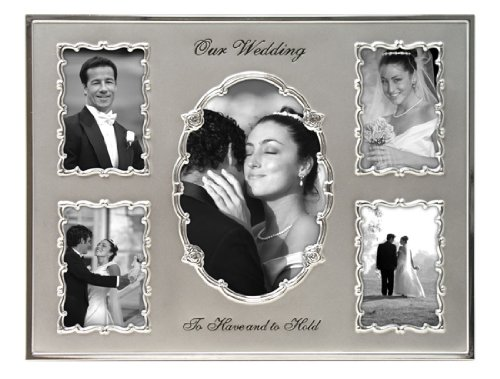 Malden Our Wedding 5-Opening Collage Frame, 5-Openings in a Variety ...