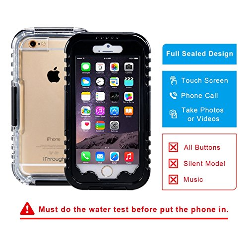Ithrough Waterproof Case Iphone