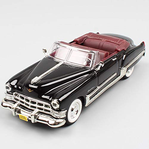 ZIETNAL Diecasts & Toy Vehicles - ldren 1:43 Scale Small Road Signature 1949 Cadillac DeVille Coupe Convertible car Vehicle Metal diecast Model Toy Collections 1 PCs