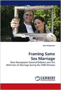 Same-sex marriage Define Same-sex marriage at