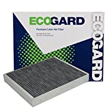 ECOGARD XC10022C Cabin Air Filter with Activated Carbon Odor Eliminator - Premium Replacement Fits Chevrolet Impala, Colorado / Cadillac ATS, XTS / Chevrolet Camaro, Cruze, Malibu / Cadillac XT5
