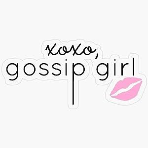 "Lplpol Stickers Gossip Girl Design Gift Decorations 5.5"" Vinyl Stickers, Laptop Decal, Water Bottle Sticker"