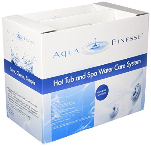 - AquaFinesse Hot Tube Water Care Kit - Dichlor (Powder)