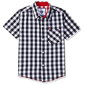 612 League Boy's Plain Regular fit Shirt