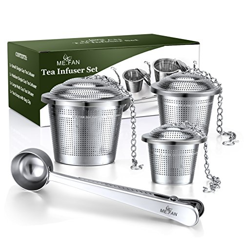 ME FAN Tea Infuser Set Stainless product image