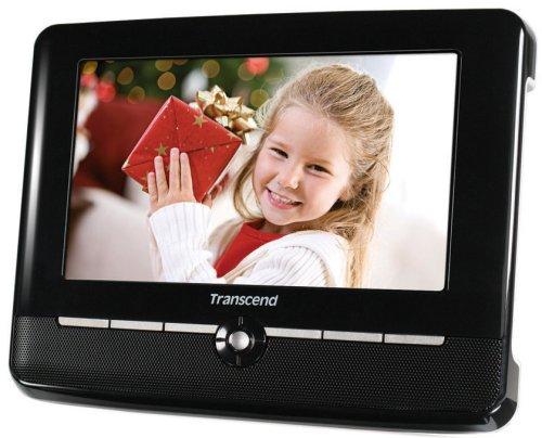 トランセンド デジタルフォトフレームT.photo720 ブラック TS2GPF720K (7インチの液晶パネル、FMラジオ、内蔵メモリ2GB) B001CHVNA6ブラック