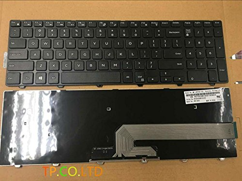 New for Dell Inspiron 15 5000 Series 5551 5555 5558 5559 5542 5545 5547 keyboard US Black replacement -  TSZPY