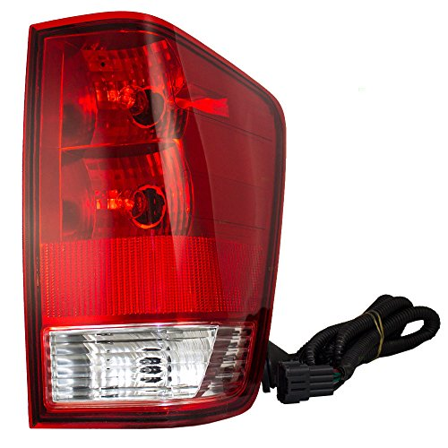 - Taillight Tail Lamp Passenger Replacement for 04-15 Nissan Titan Pickup Truck 26550ZH225