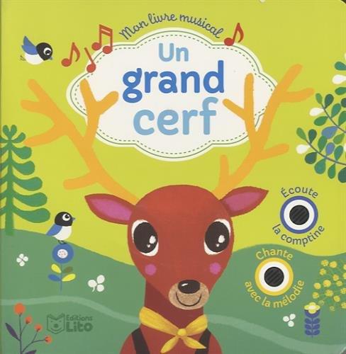 Un Grand Cerf Mon Livre Musical French Edition