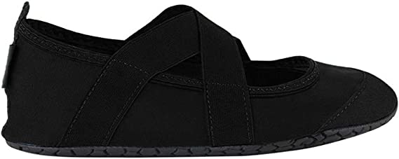 FitKicks Crossovers Women's Foldable Active Lifestyle Minimalist Footwear Barefoot Yoga Water Shoes