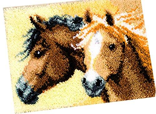 18 Model Animal Latch Hook Kit Rug Animal 601 21 by 15 Inch