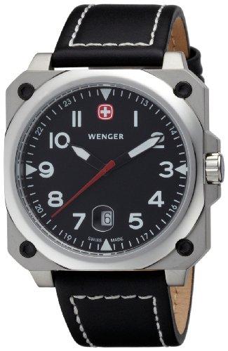 WENGER - Men's Watches - Aerograph Cockpit 3 hands date - Ref. 72425