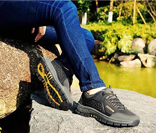 coloré Taille Loisirs Plein De Randonnée 43 Oudan Filet Jaune Sport Chaussures Sports Marche Respirant Antidérapantes Bleu En Air Uxwn7pOqZw