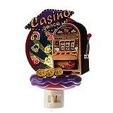 Casino Slot Machine Night Light