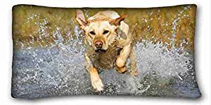 Generic Personalized Animal Custom Zippered Pillow Case 20x36 inches(one sides) from Surprise you suitable for King-bed