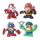 Mr. Potato Head Marvel Mashups Dual Gender 4 Pack
